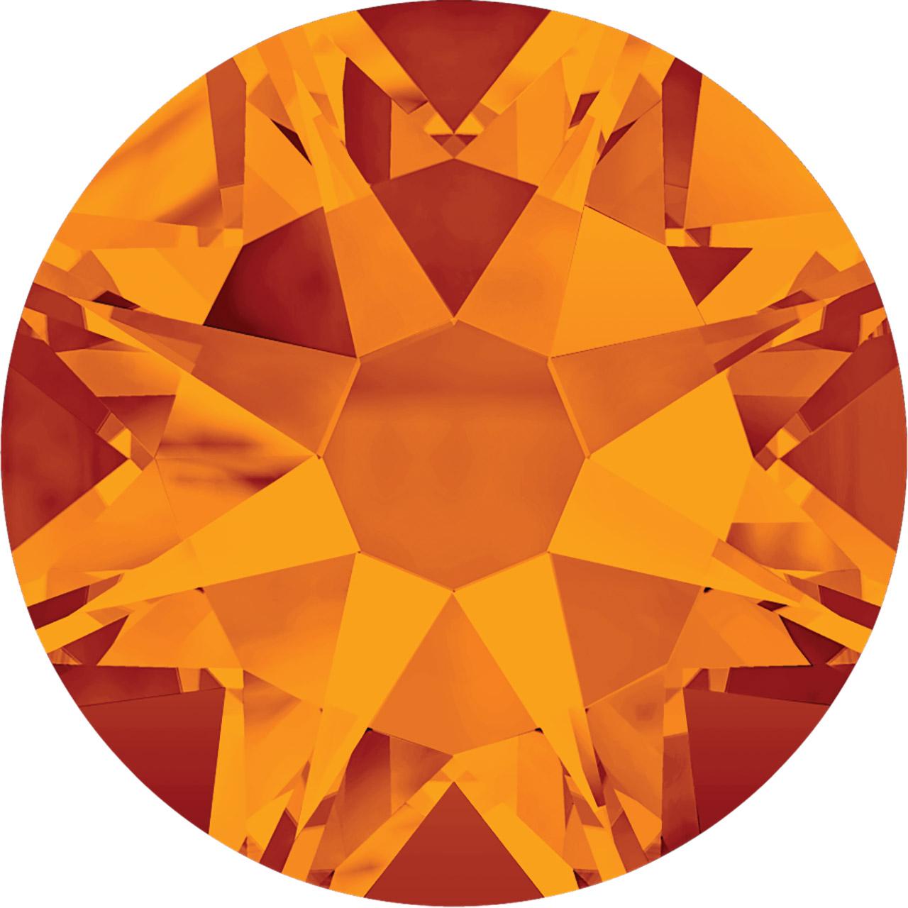Rhinestone - Tangerine