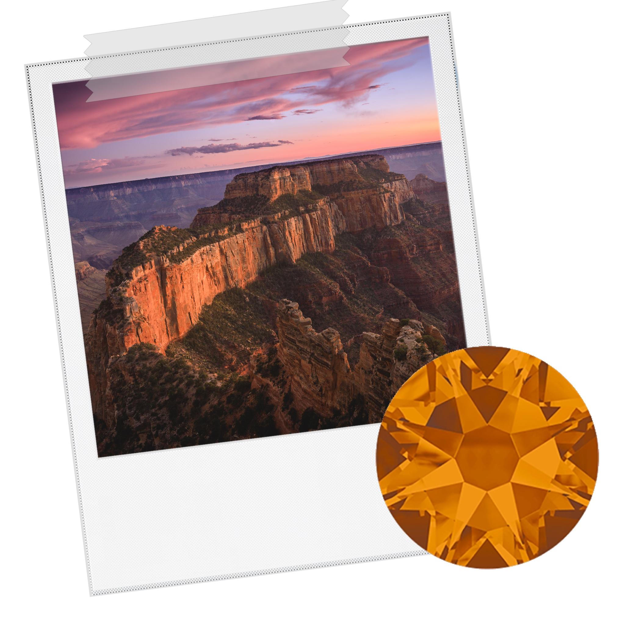 Grand Canyon - Rhinestone Copper