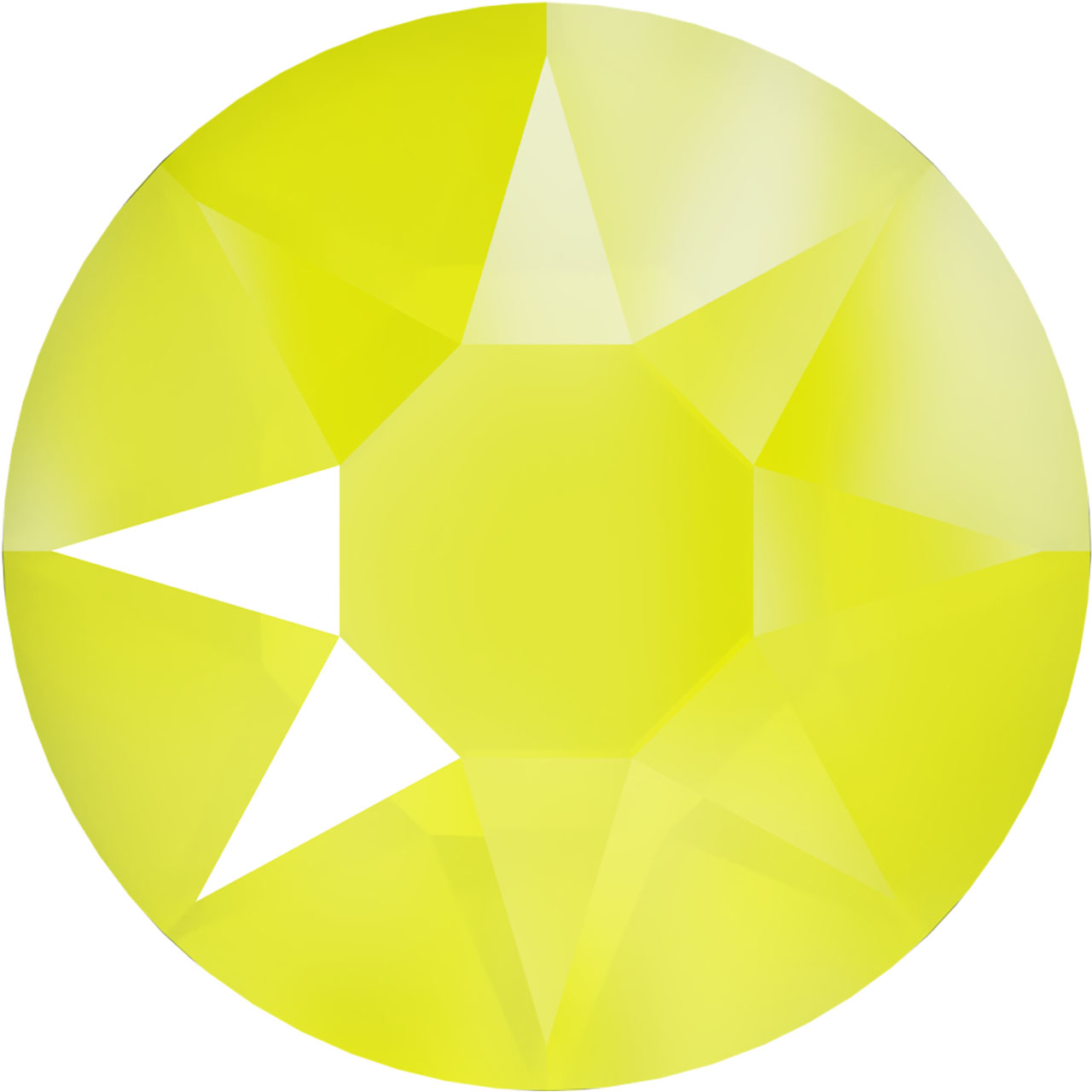 Rhinestone - Electric Yellow